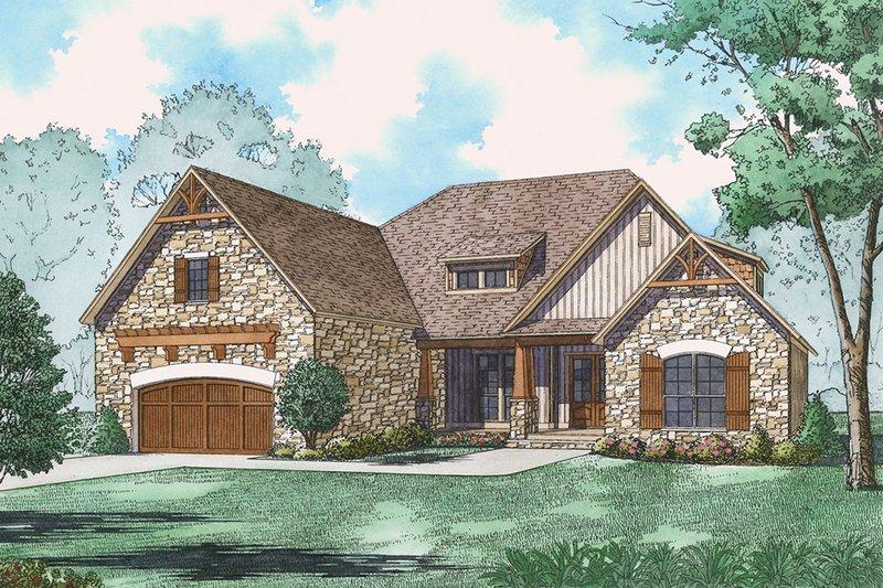 House Plan Design - Ranch Exterior - Front Elevation Plan #923-89