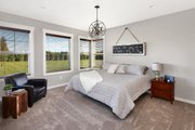 Craftsman Style House Plan - 3 Beds 2.5 Baths 2297 Sq/Ft Plan #1070-15 Interior - Master Bedroom