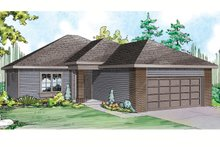 Home Plan - Traditional Exterior - Front Elevation Plan #124-914