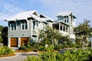 Beach Style House Plan - 4 Beds 5 Baths 3056 Sq/Ft Plan #443-10 Photo
