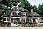 Traditional Style House Plan - 5 Beds 4.5 Baths 3482 Sq/Ft Plan #927-11 Exterior - Front Elevation