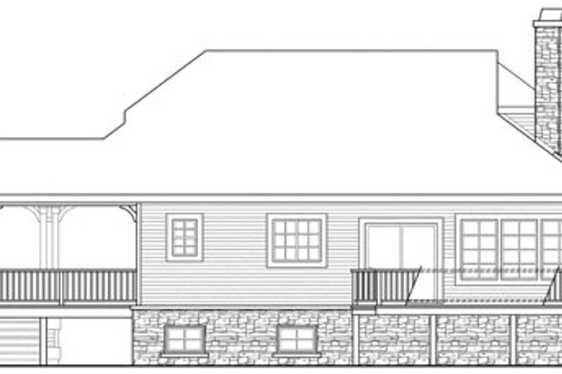 Craftsman Exterior - Other Elevation Plan #124-784 - Houseplans.com
