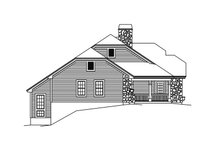 House Plan Design - Country Exterior - Other Elevation Plan #57-691
