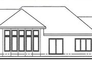 Modern Style House Plan - 3 Beds 2 Baths 1780 Sq/Ft Plan #312-640 Exterior - Rear Elevation