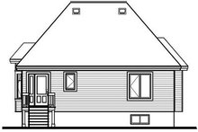 Dream House Plan - Traditional Exterior - Rear Elevation Plan #23-689