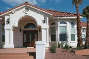 Mediterranean Style House Plan - 4 Beds 3 Baths 2861 Sq/Ft Plan #1-700 Photo