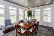 Ranch Style House Plan - 3 Beds 2 Baths 2784 Sq/Ft Plan #70-1467 Interior - Dining Room