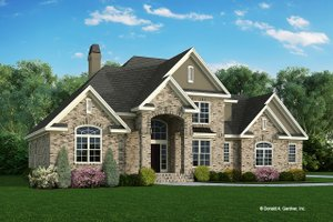 Traditional Exterior - Front Elevation Plan #929-341