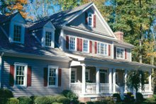 Dream House Plan - Country Exterior - Other Elevation Plan #429-24