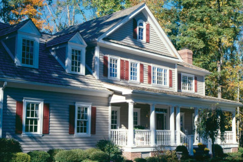 Country Exterior - Other Elevation Plan #429-24 - Houseplans.com