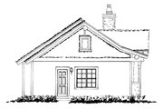 Cabin Style House Plan - 2 Beds 2 Baths 1065 Sq/Ft Plan #942-59 Exterior - Other Elevation