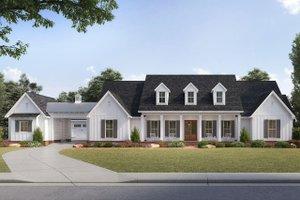 Farmhouse Exterior - Front Elevation Plan #1074-3