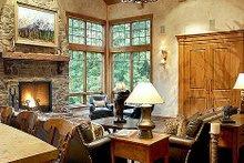 Craftsman Interior - Family Room Plan #48-233