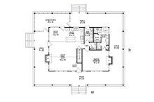 Country Floor Plan - Main Floor Plan Plan #81-13915