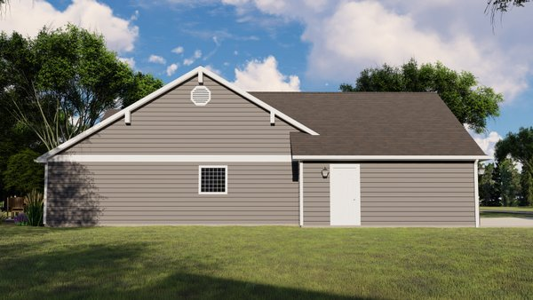 Craftsman Floor Plan - Other Floor Plan #1064-37