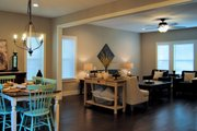 Craftsman Style House Plan - 3 Beds 2.5 Baths 1803 Sq/Ft Plan #461-50 Interior - Dining Room