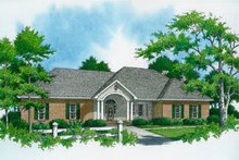 Home Plan - Ranch Exterior - Front Elevation Plan #21-103