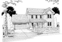 Dream House Plan - Country Exterior - Other Elevation Plan #513-2056