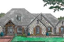 House Design - European Exterior - Front Elevation Plan #310-557