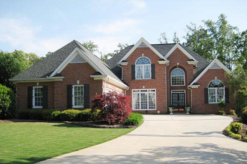 Dream House Plan - European Exterior - Front Elevation Plan #437-4