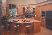Contemporary Style House Plan - 4 Beds 4.5 Baths 5039 Sq/Ft Plan #930-507 Interior - Kitchen
