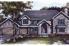 Dream House Plan - Bungalow Exterior - Front Elevation Plan #320-299