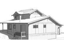 Craftsman Exterior - Rear Elevation Plan #895-100