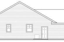 House Design - Ranch Exterior - Other Elevation Plan #124-862