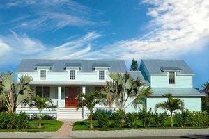 Dream House Plan - Farmhouse Exterior - Front Elevation Plan #938-82