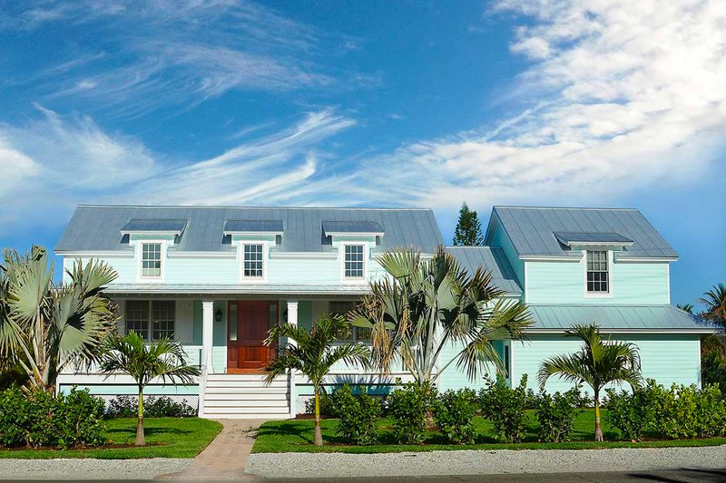 Architectural House Design - Farmhouse Exterior - Front Elevation Plan #938-82
