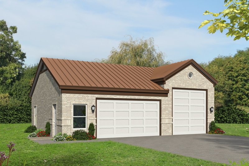 Home Plan - Country Exterior - Front Elevation Plan #932-73