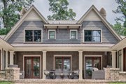 Country Style House Plan - 4 Beds 4.5 Baths 5274 Sq/Ft Plan #928-12 Exterior - Rear Elevation