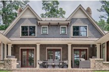 Country Exterior - Rear Elevation Plan #928-12