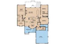 Country Floor Plan - Main Floor Plan Plan #923-35
