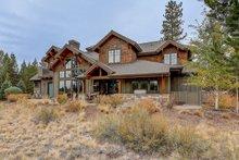 Craftsman Exterior - Rear Elevation Plan #892-27