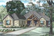 Craftsman Style House Plan - 3 Beds 2.5 Baths 3307 Sq/Ft Plan #17-2487
