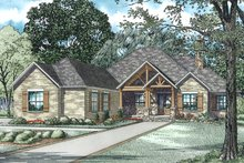 Craftsman Exterior - Other Elevation Plan #17-2487
