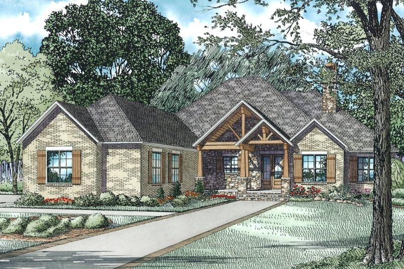 Architectural House Design - Craftsman Exterior - Other Elevation Plan #17-2487