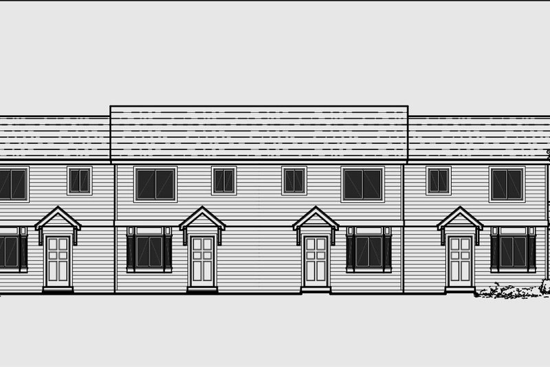 Architectural House Design - Traditional Exterior - Front Elevation Plan #303-474