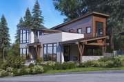 Modern Style House Plan - 3 Beds 2 Baths 3629 Sq/Ft Plan #1066-43 Exterior - Other Elevation