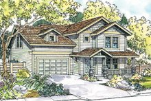 Home Plan - Exterior - Front Elevation Plan #124-719