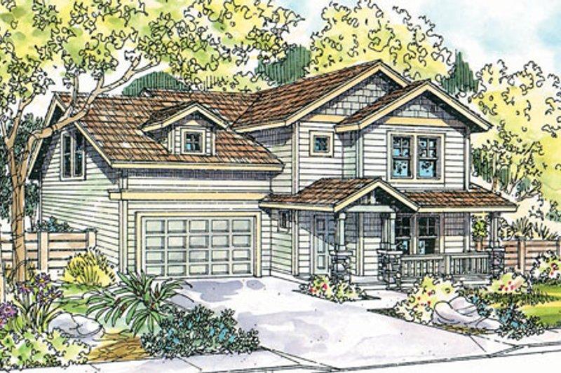 House Plan Design - Exterior - Front Elevation Plan #124-719
