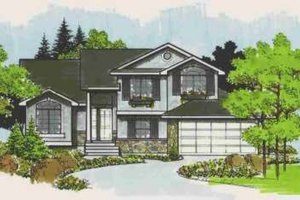 Traditional Exterior - Front Elevation Plan #308-145