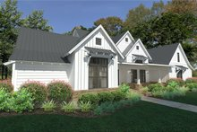 Dream House Plan - Farmhouse Exterior - Front Elevation Plan #120-253