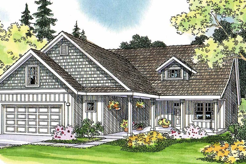 Traditional Exterior - Front Elevation Plan #124-365