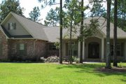 European Style House Plan - 3 Beds 2.5 Baths 1900 Sq/Ft Plan #21-270 Exterior - Other Elevation