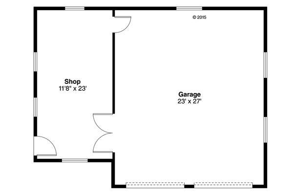 Traditional Floor Plan - Main Floor Plan Plan #124-992