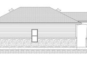 Cottage Style House Plan - 1 Beds 1 Baths 640 Sq/Ft Plan #1077-7 Exterior - Other Elevation
