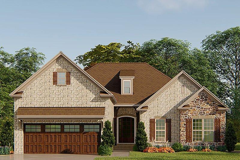 House Plan Design - European Exterior - Front Elevation Plan #923-138