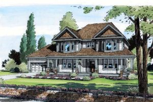 Traditional Exterior - Front Elevation Plan #312-464